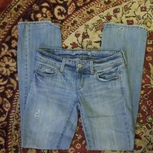 American Eagle Stretch Slim Bootcut Jeans Size 4